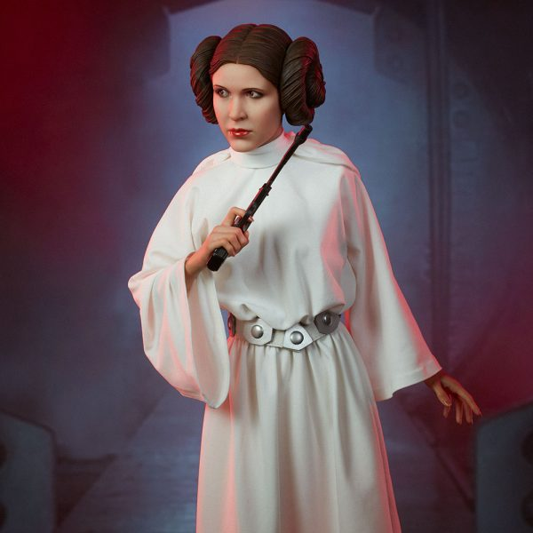 Princess Leia May The 4th Be With You: Star Wars: A New Hope Princess Leia Statue By Sideshow